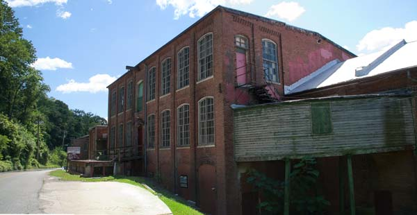Photo of Clipper Mill, built in 1865.